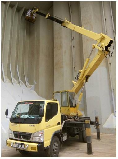 sewa mobil tangga 14 meter