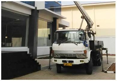 unit mobil tangga 20 meter