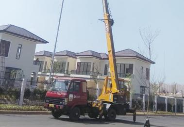unit mobil tangga 26 meter